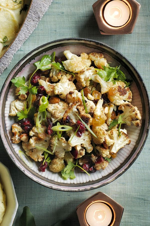 Roasted Cauliflower Salad recipe from Woman's Day