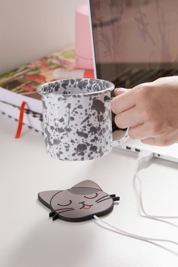 Cat-shaped USB Cup Heater from Urban Outfitters