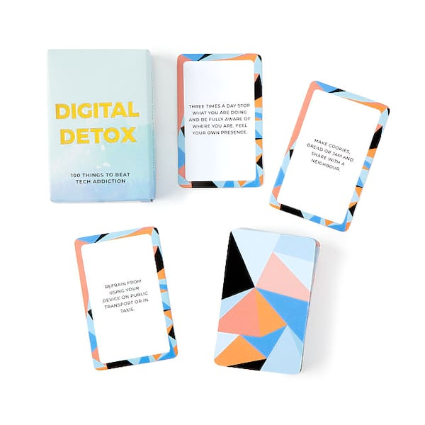 Digital Detox Challenge Cards from UncommonGoods