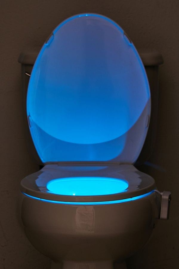 Brilliant Ideas LED Toilet Night Light from Urban Outfitters