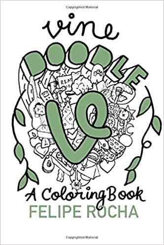 'Vine Doodles' by Felipe Rocha book cover from Amazon