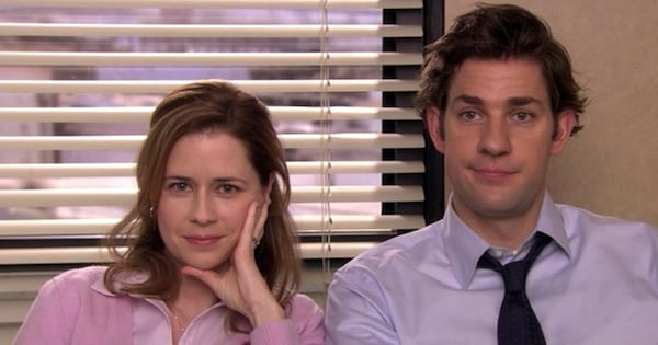 jim and pam the office tv show