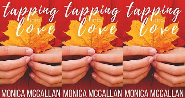 november romance novels, tapping into love by monica mccallan, books