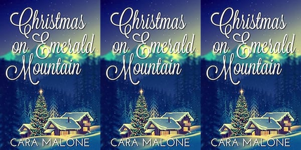 queer christmas books, christmas on emerald mountain by cara malone, books