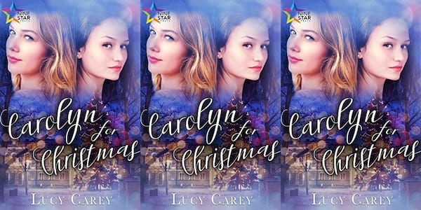queer christmas books, carolyn for christmas by lucy carey, books