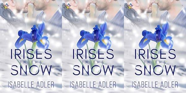 queer christmas books, irises in the snow by isabelle adler, books