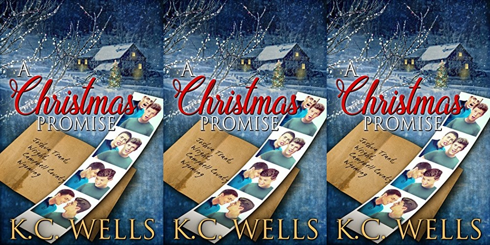 queer christmas books, a christmas promise by kc wells, books