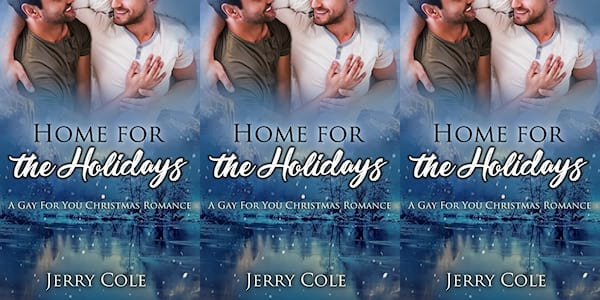 queer christmas books, home for the holidays by jerry cole, books