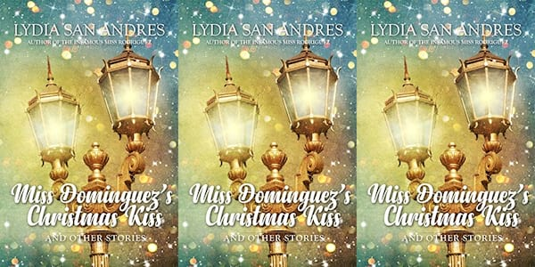 queer christmas books, miss dominguez's christmas kiss and other stories by lydia san andres, books