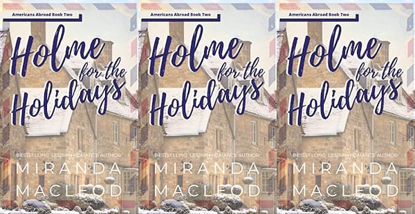 queer christmas books, holme for the holidays by miranda macleod, books