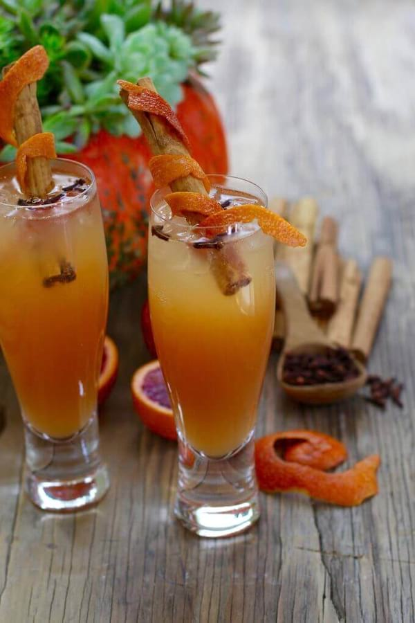 Fireball Whisky Fall Cocktails recipe from Delicious Table