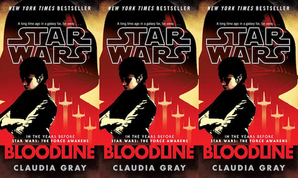 books like star wars, bloodline by claudia gray, books