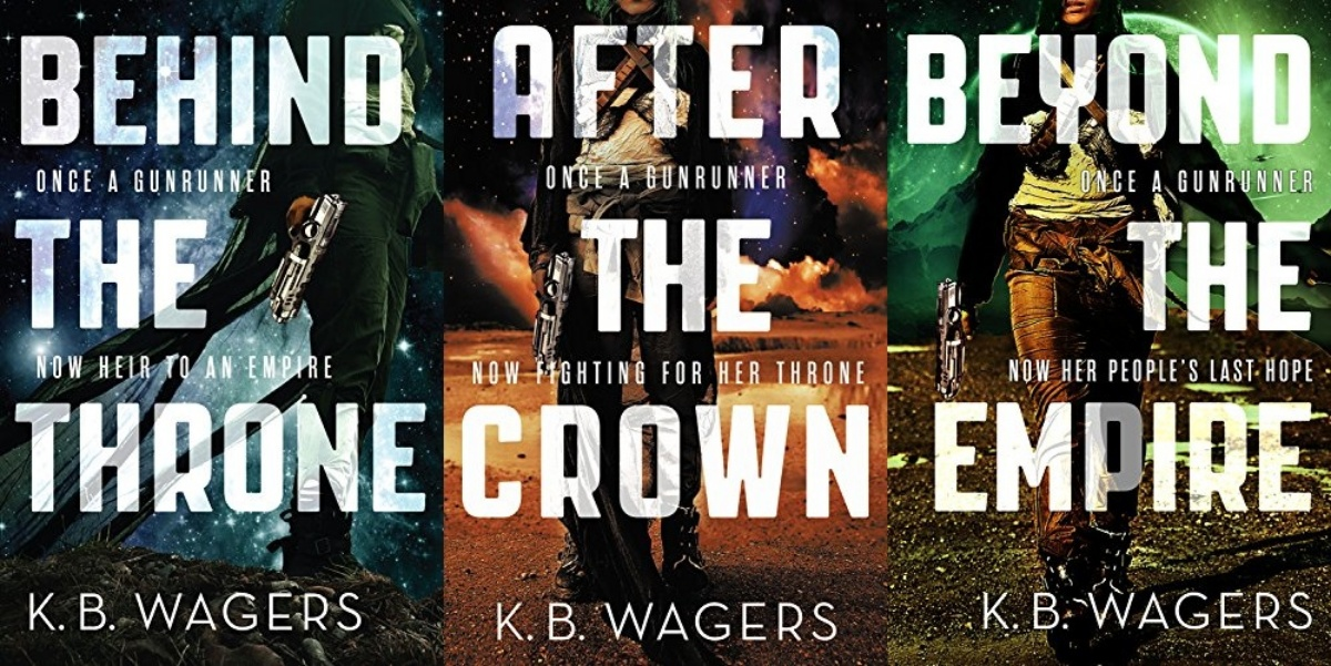 books like star wars, the indranan war series by kb waters, books