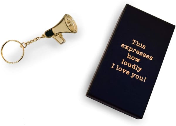 'The Office' megaphone keychain from Amazon