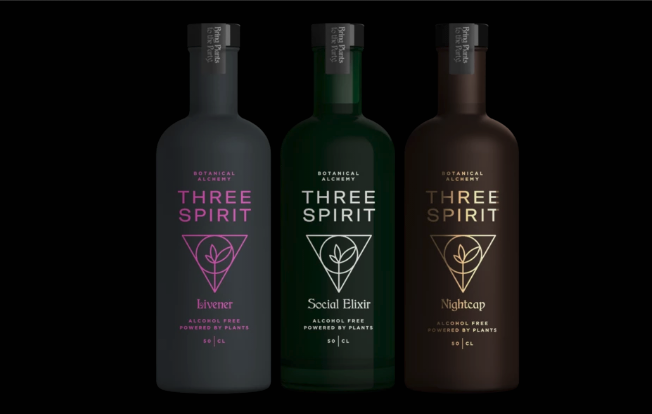 Three Spirit The Collection from the company's website