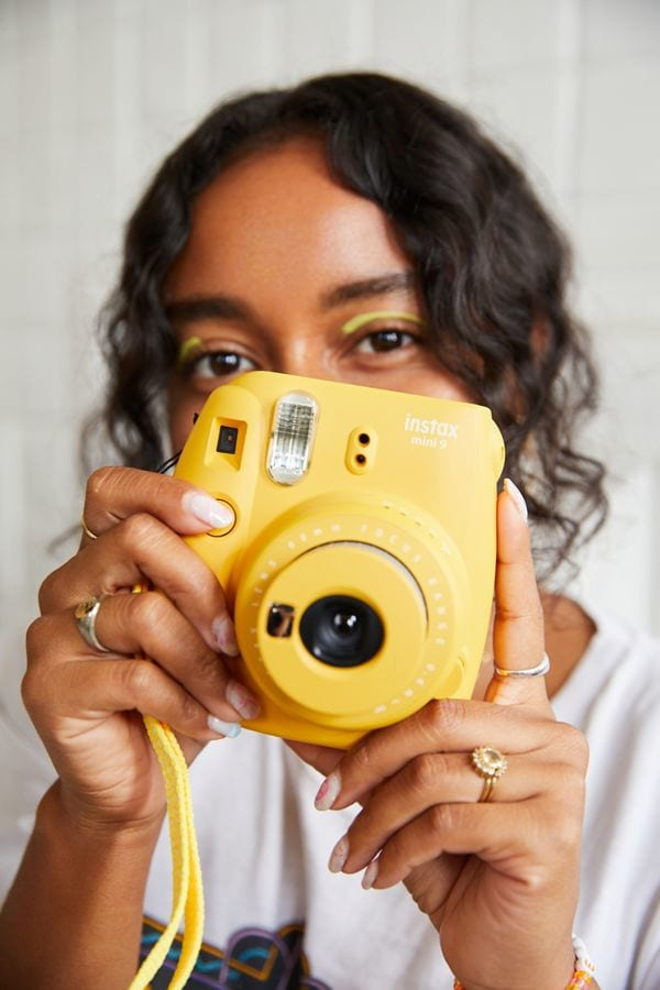 Fujifilm UO Exclusive Instax Mini 9 Instant Camera in Marigold from Urban Outfitters