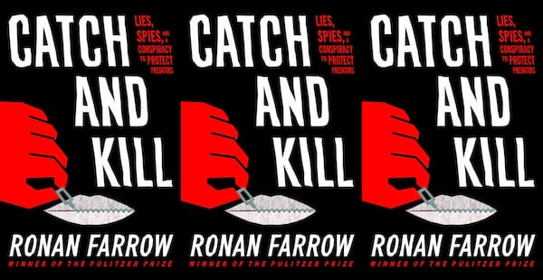 me too books, catch and kill by ronan farrow, books