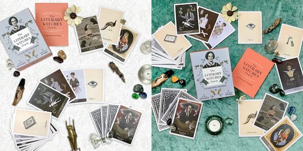 books for gift lovers, the literary witches oracle deck, books