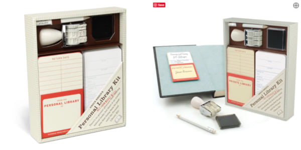 gifts for book lovers, personal library kit, books
