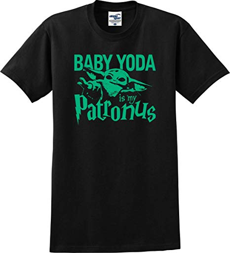 'Baby Yoda Is My Patronus' T-shirt from Amazon