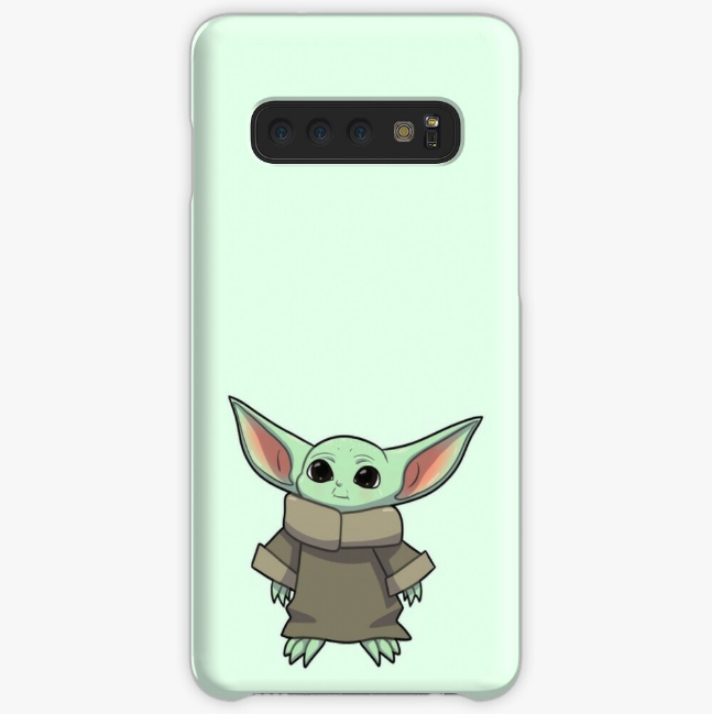 Baby Yoda phone case from Redbubble