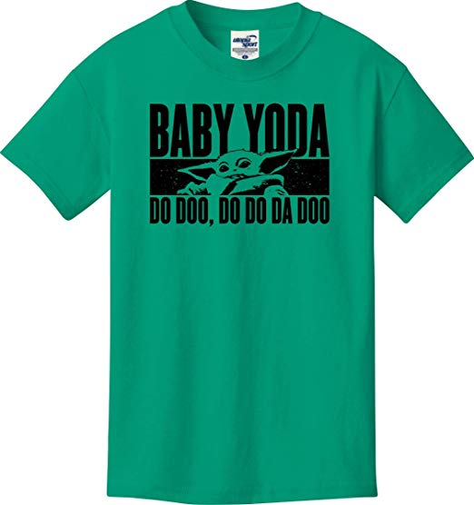 Baby Yoda Baby Shark Parody T-Shirt from Amazon