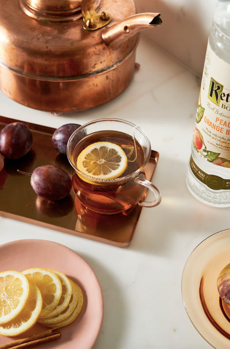 Peach Toddy recipe from Ketel One Botanical