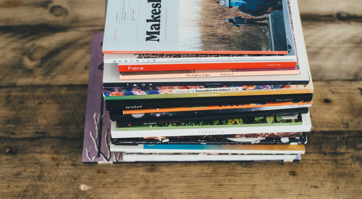 chronically-ill-and-disabled-magazines, a stack of magazines, books
