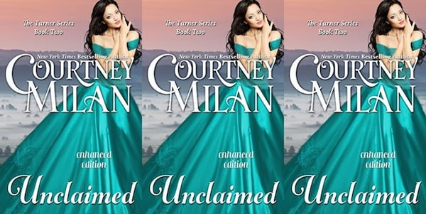 sex worker romance novels, unclaimed by courtney milan, books