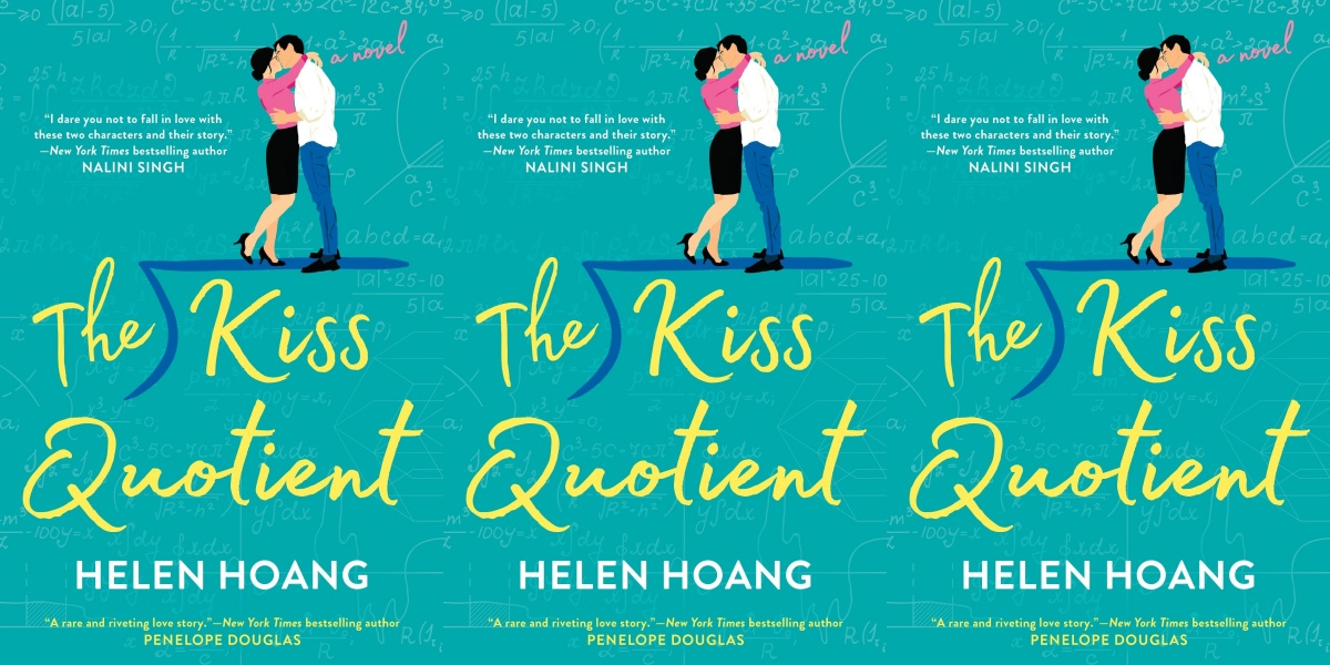sex worker romance novels, the kiss quotient by helen hoang, books