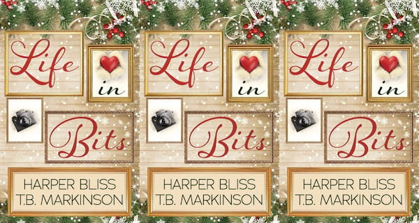 christmas romance novels, life in bits by Harper bliss and tb markinson, books
