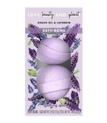 Love Beauty and Planet Argan Oil & Lavender Soothing Spa Bath Bombs