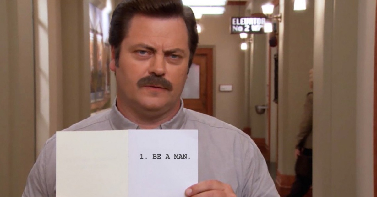 ron swanson parks and recreation tv