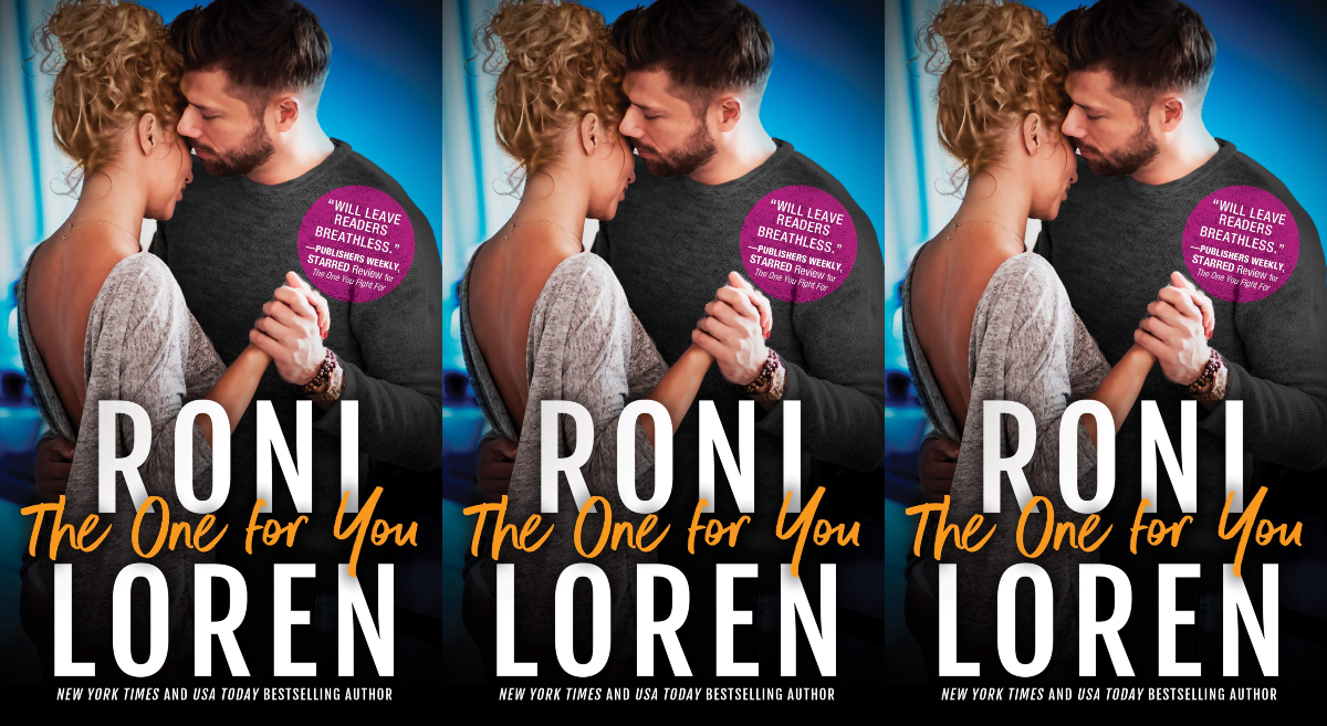 december romance novels, the one for you by roni loren, books