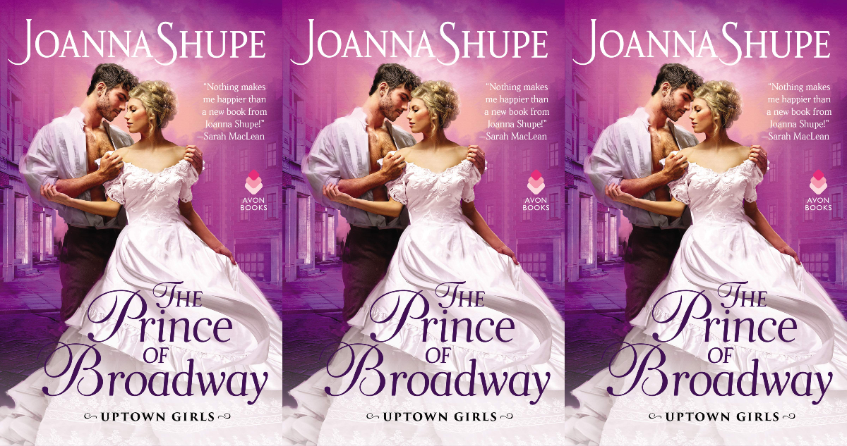 december romance novels, the prince of broadway by joanna shupe, books