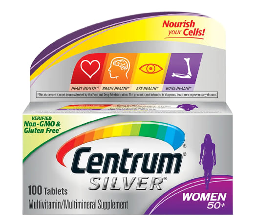 Centrum Silver for Women 50+ from Walgreens