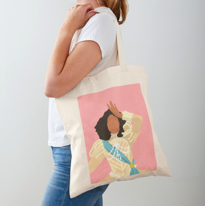 Angel Tote Bag from Redbubble