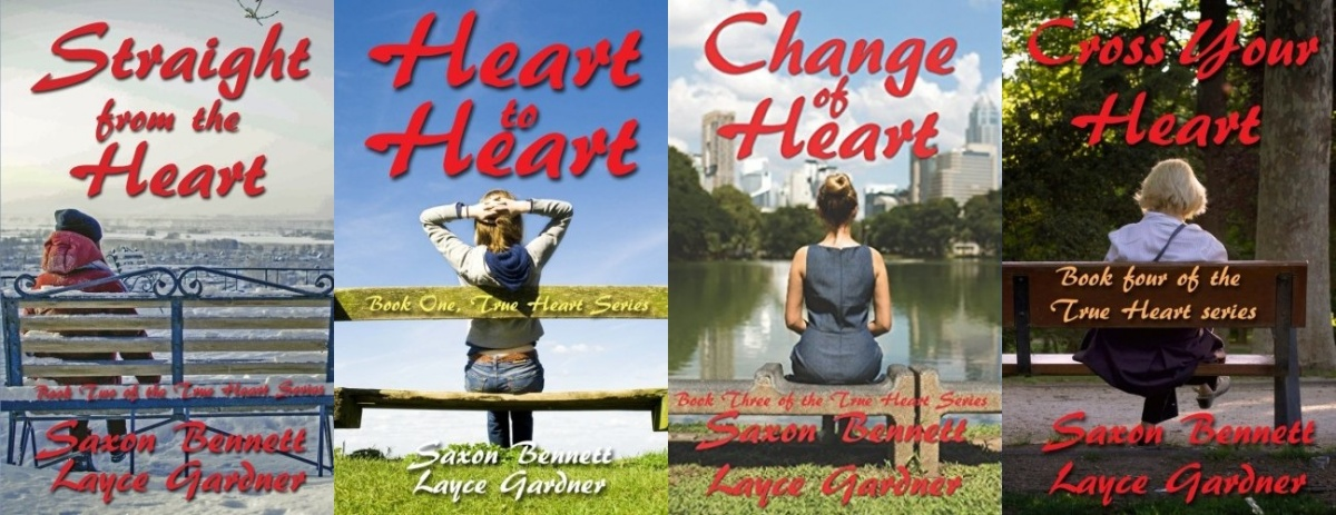books like the l word, true heart series by lace gardner and saxon bennett, books