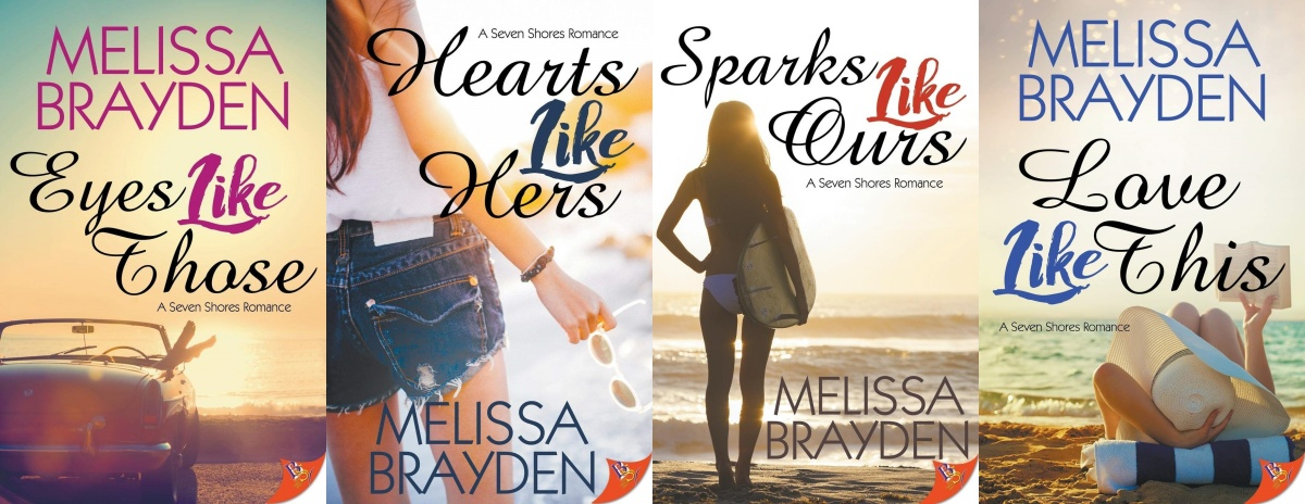 books like the l word, seven shores series by melissa brayden, books