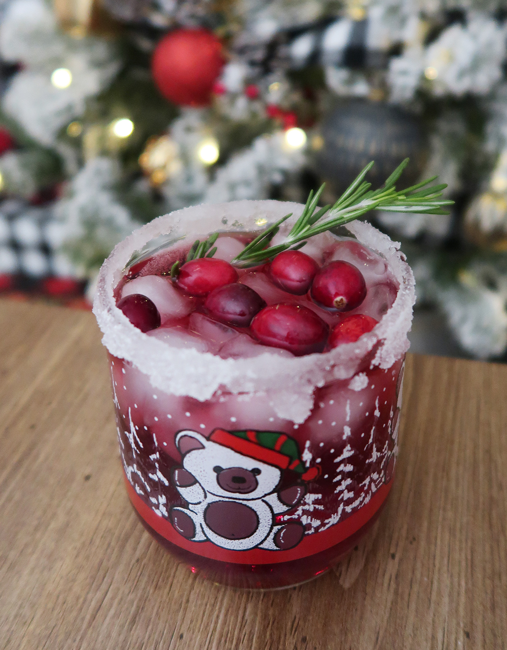 Christmas Margarita recipe from Weekend Craft