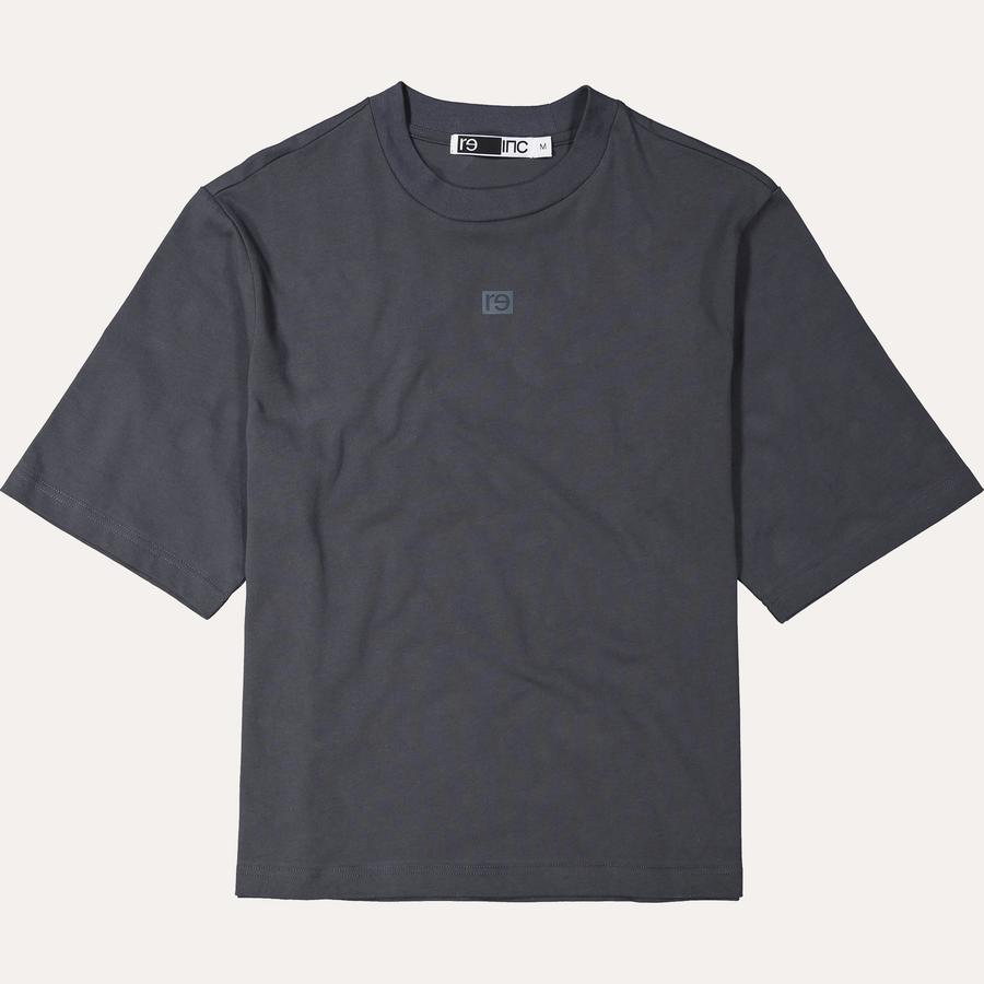 Re-Inc Box Tee in Dust Blue from the Capsule Collection