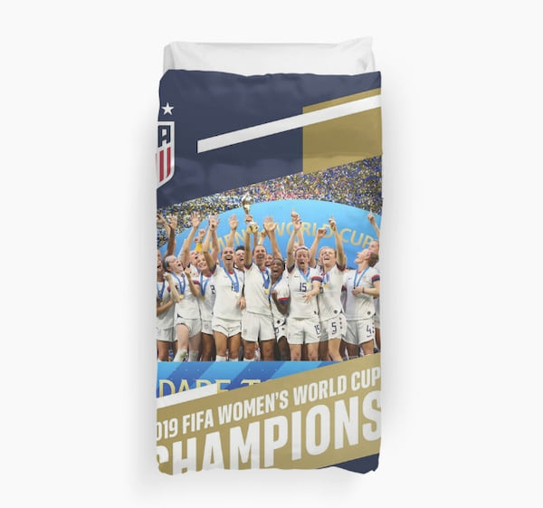 World Cup Champions duvet cover from Redbubble