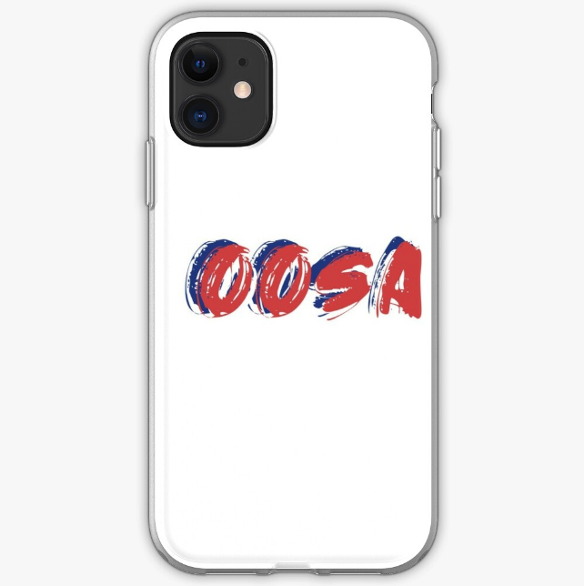 'Oosa' iPhone case from Redbubble