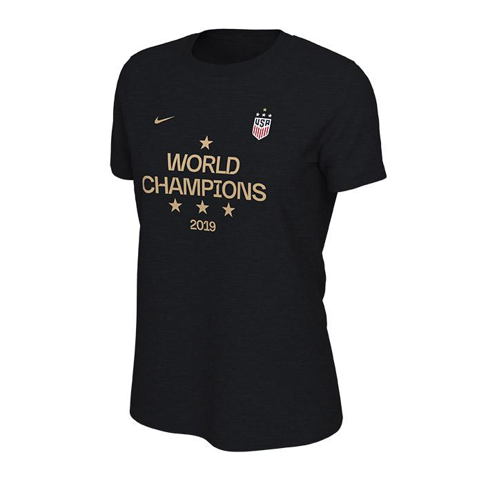 Women's Nike 2019 4-Star World Cup Champions T-Shirt from the U.S. Soccer store