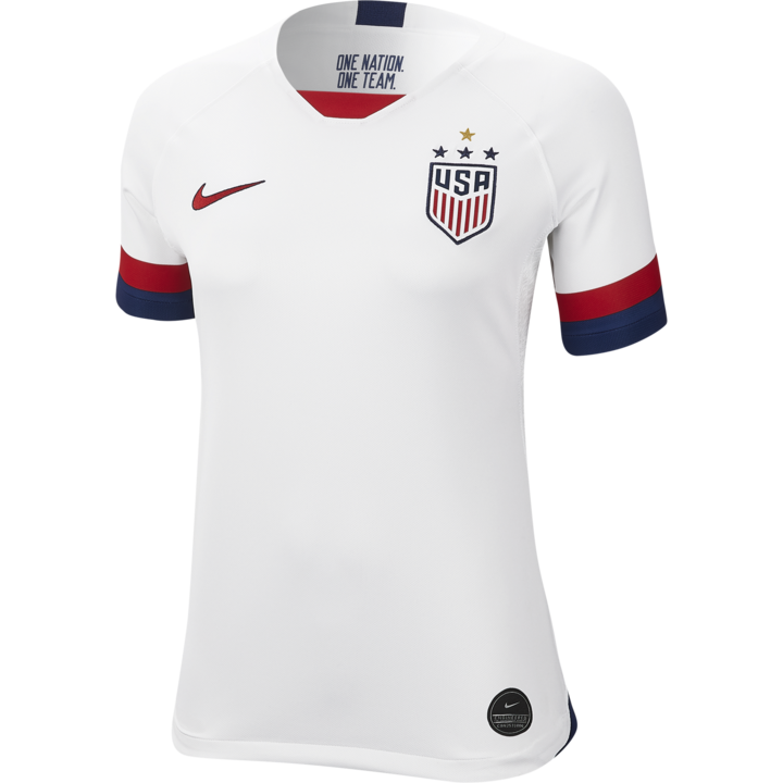 USWNT home jersey from the U.S. Soccer store