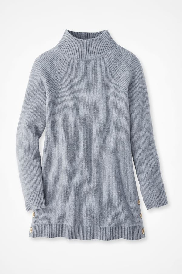 Ever-Soft Ribbed Tunic Sweater from Coldwater Creek