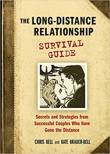 'The Long-Distance Relationship Survival Guide' book cover from Amazon