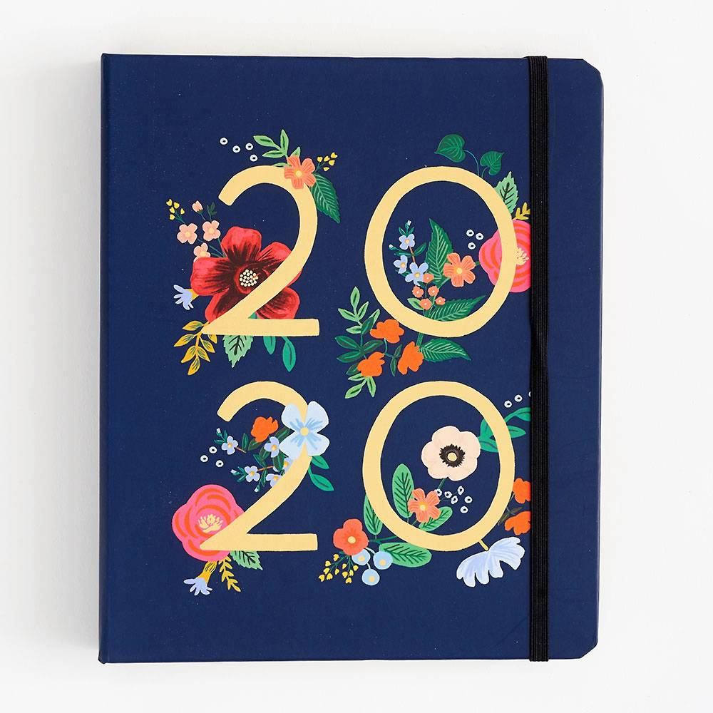 2019-2020 Wild Rose Large Planner from Paper Source