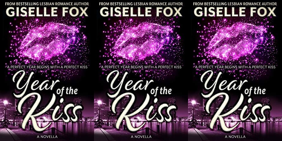 new year's romance novels, year of the kiss by giselle fox, books