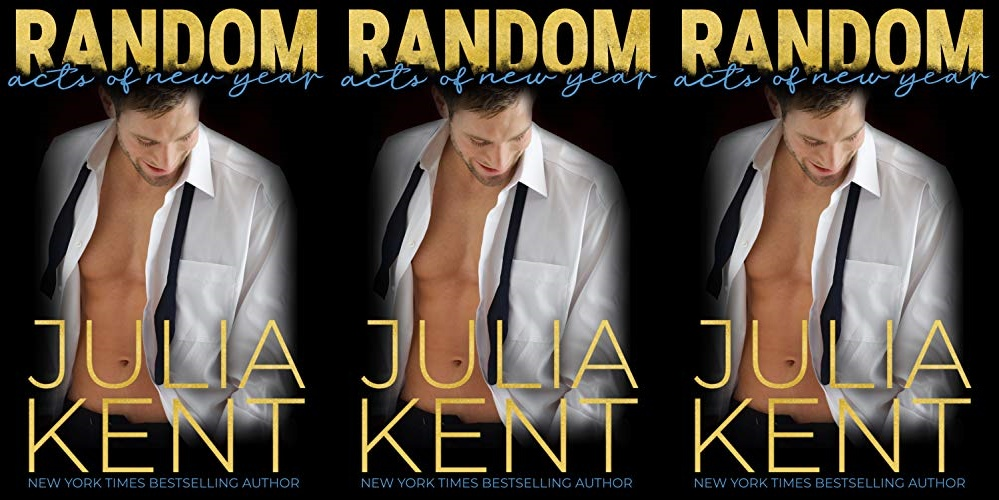 new year's romance novels, random acts of new year by julia kent, books